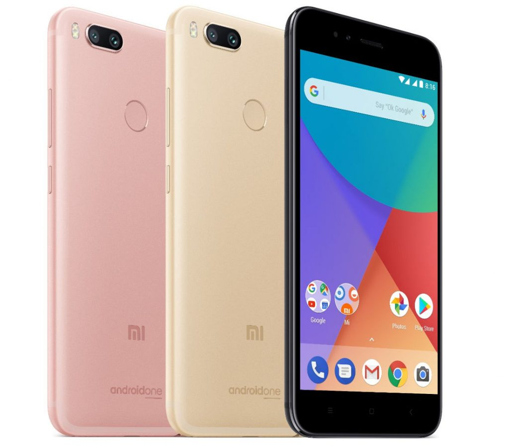 Xiaomi Mi A1 4 64gb ύ ό Rose Gold Apiastos Gr